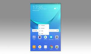 Huawei Mediapad M5 8,4 im Test - Screen App Menü