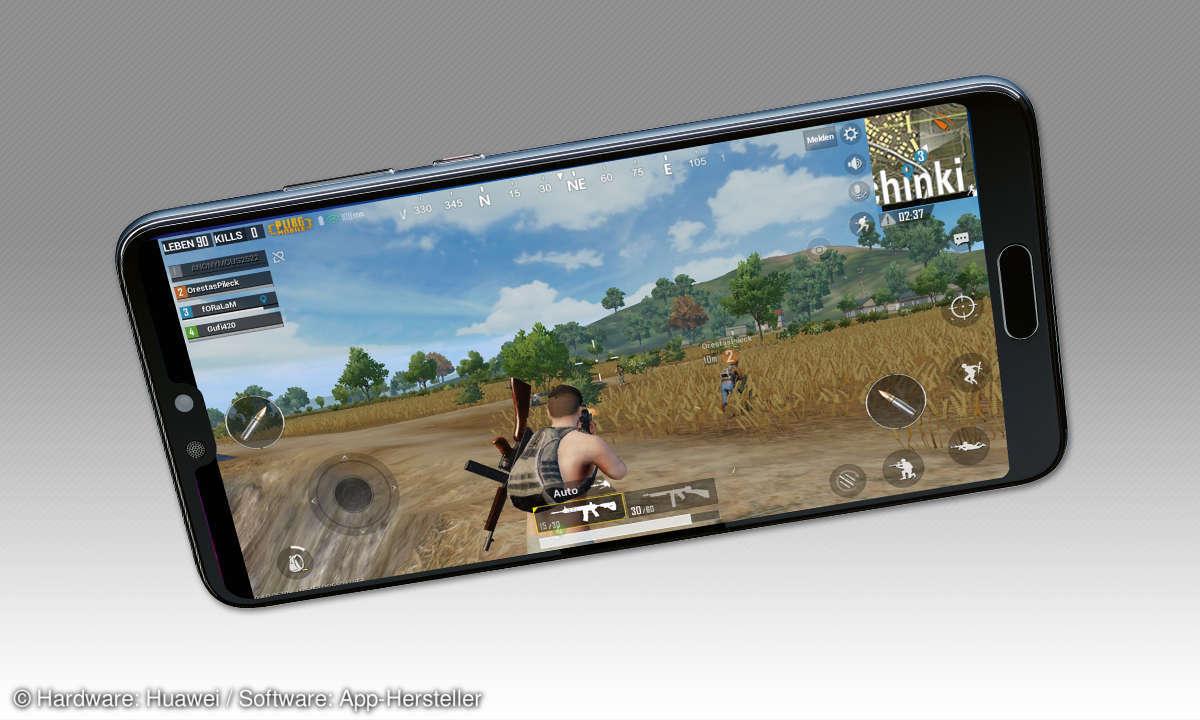 Gaming-Smartphones im Vergleich - Huawei P20