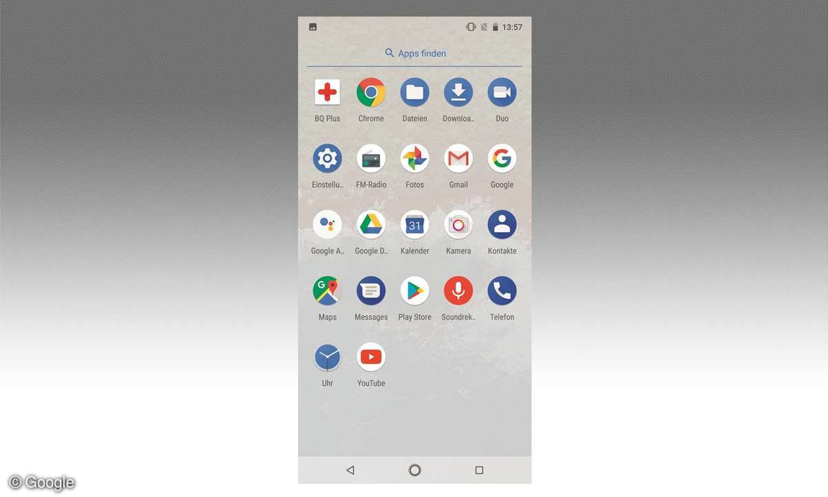 Screenshot: Android One