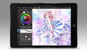 7 Apps, die für Apple Pencil optimiert sind - MediBang Paint