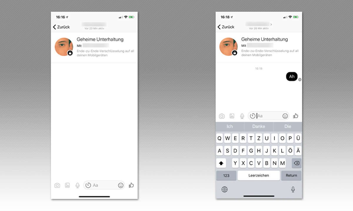 8 Tipps für Facebook Messenger - Gespräche verschlüsseln