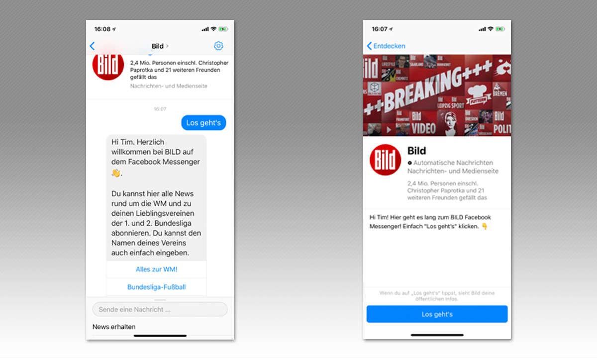 8 Tipps für Facebook Messenger - Mit Bots chatten
