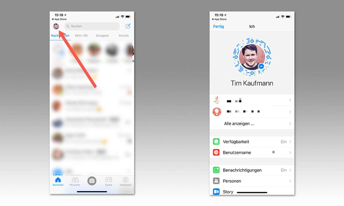 8 Tipps für Facebook Messenger -  Neue Freunde schnell hinzufügen