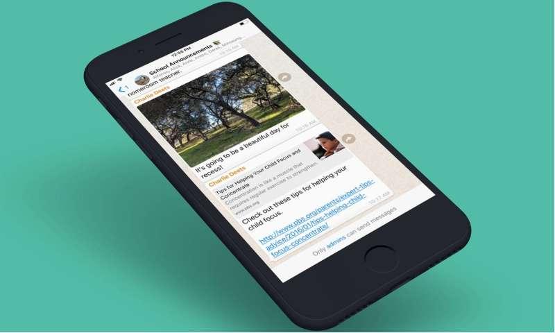 Neue Funktion Für Whatsapp Gruppen Nachrichten Nur Vom