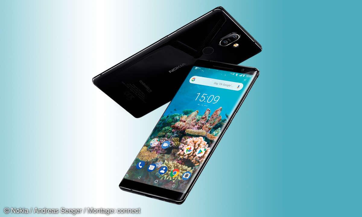 Nokia 8 Sirocco im Test