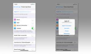 Apple ID anzeigen