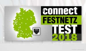 connect Festnetz Test 2018
