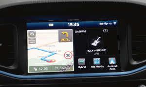 Hyundai Ioniq Infotainment