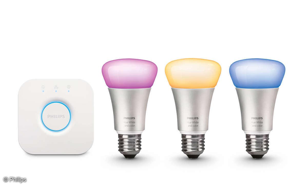 Smart-Home: 8 Starterkits im Vergleich - Philips