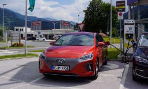 Hyundai Ioniq Elektro Ladestation