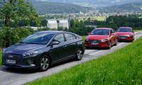 Hyundai Ioniq Frontansicht