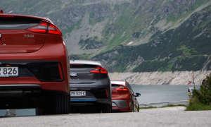 Hyundai Ioniq Rückansicht