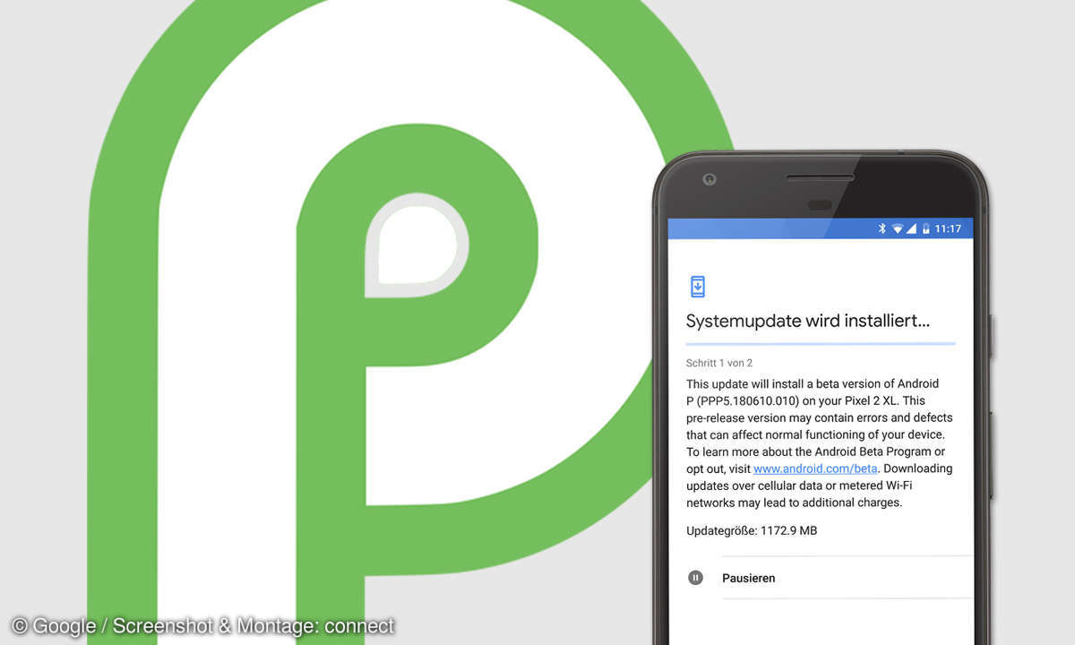 android 9 p update liste