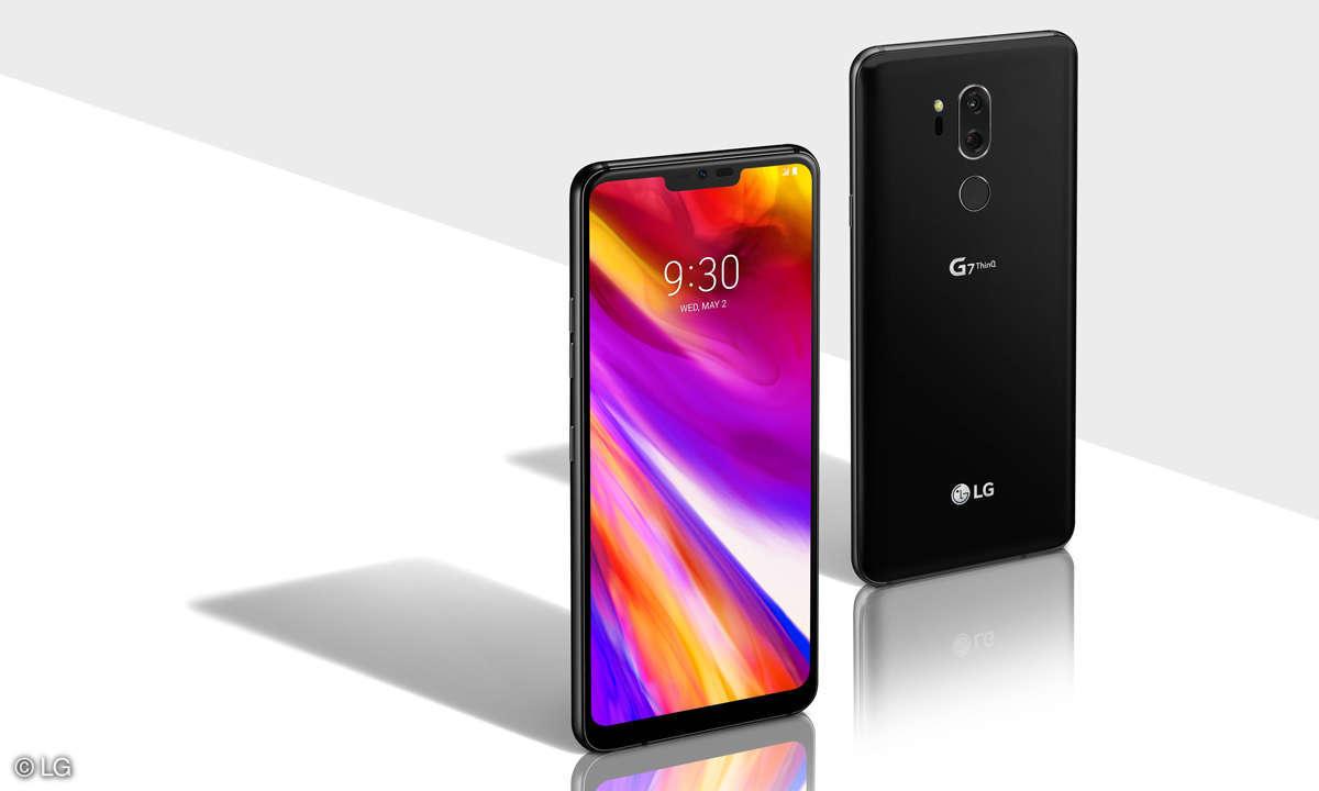 LG G7 ThinQ im Test