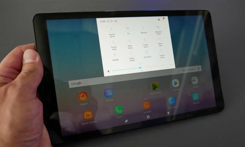 Tablet A Samsung Test