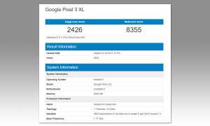 Google Pixel 3 XL Benchmark