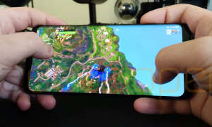 Fortnite Mobile Gameplay auf Android