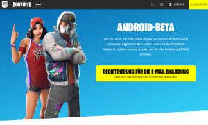 fortnite android beta
