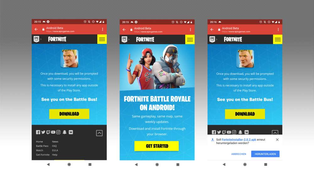 Fortnite Mobile Fur Android So Wird Die Beta Eingerichtet