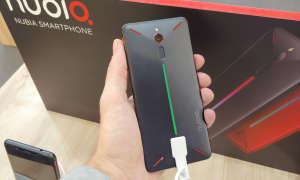 Nubia Red Magic Front Performance Button
