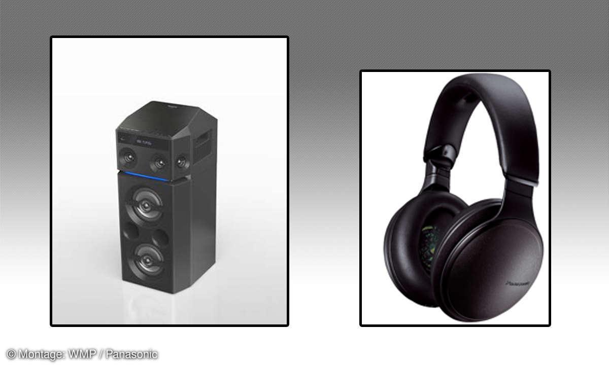 Panasonic: Audio-Neuheiten