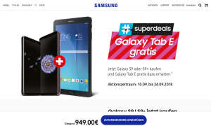 samsung superdeals galaxy s9