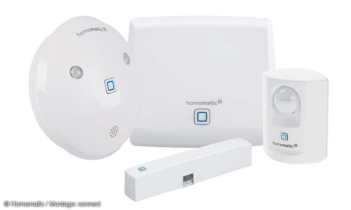 Sicherheit daheim: Einbruchschutz - Homematic IP