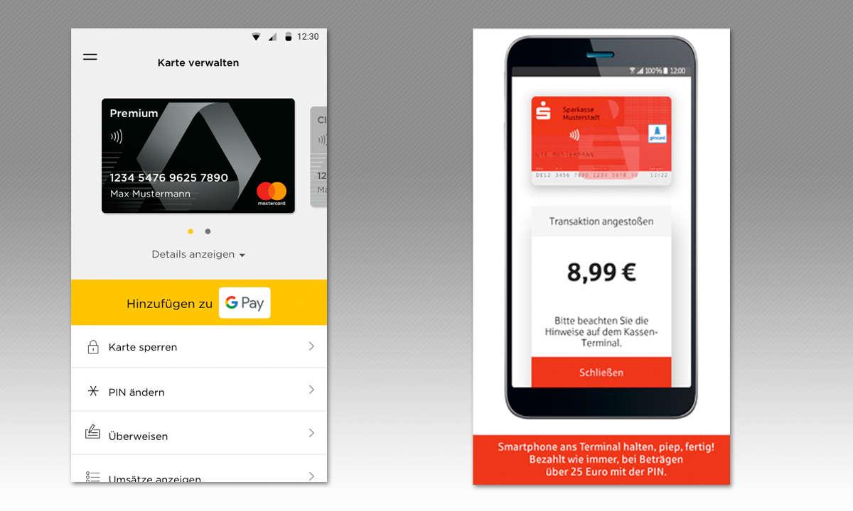 Mobile Payment - Mit dem Smartphone zahlen - Banking Apps
