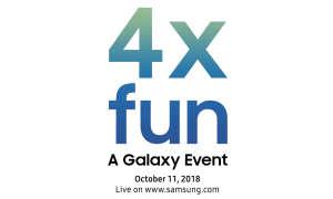 Einladung Samsung Galaxy-Event Oktober 2018