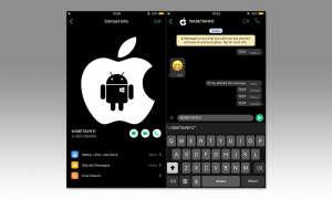 WhatsApp Dark Mode Konzept von WABetaInfo