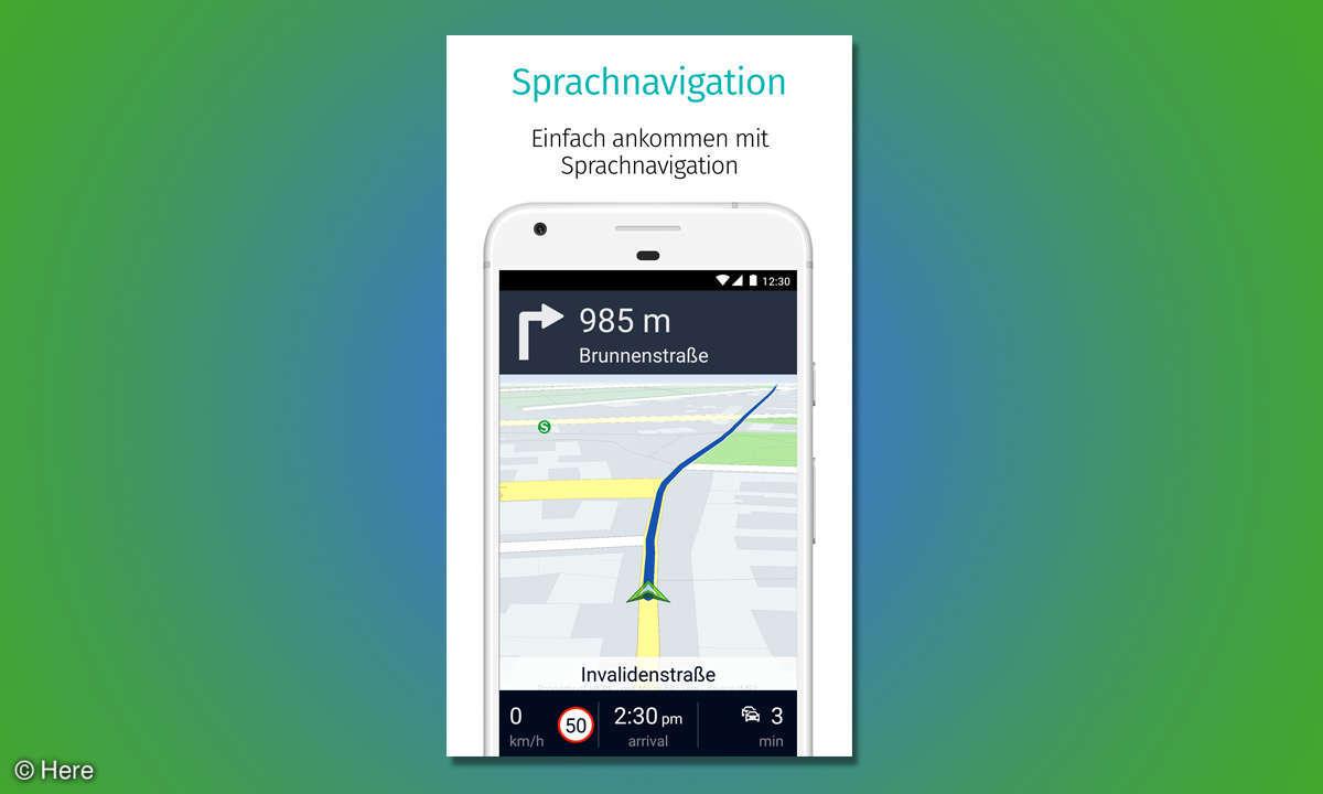 Here Wego Navigation app