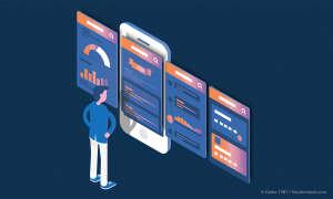 Mobilfunk-Netzbetreiber Service-Apps