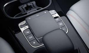 Mercedes Benz A-Klasse 2018 Touchpad