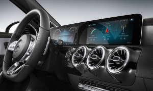Mercedes Benz A-Klasse 2018 Kombiinstrumente