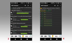 """WLAN Performance erhöhen mit """"Wifi Analyzer"""" Screen 3 und 4"""