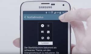 Samsung Notfallmodus nutzen - so geht's