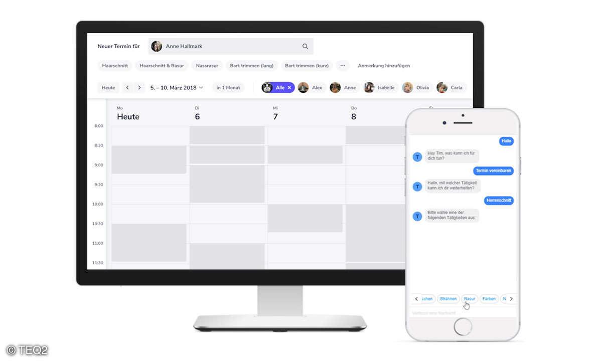 arranio Desktop Smartphone