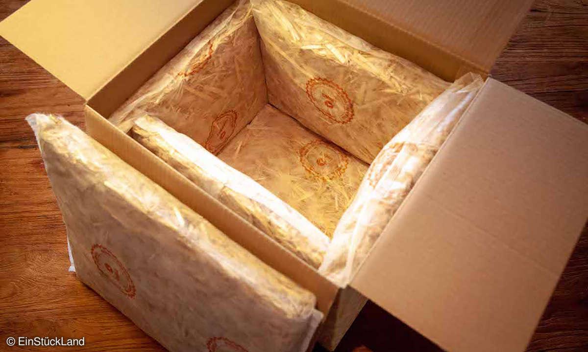 EinStückLand - Verpackung
