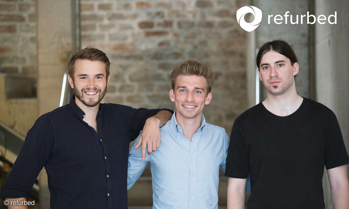 refurbed founder team