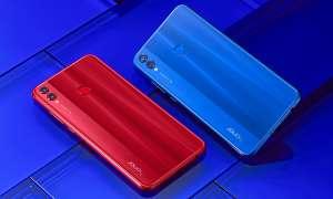 Honor 8X Smartphone Rot Blau