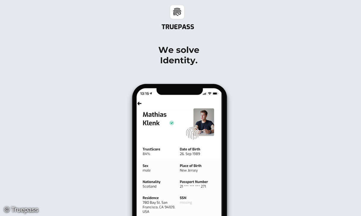 Truepass: We solve Itendtity