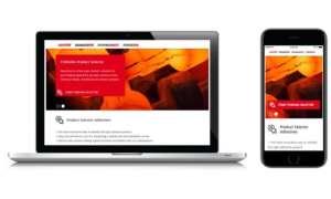 Digital Product Selector: Startseite Henkel