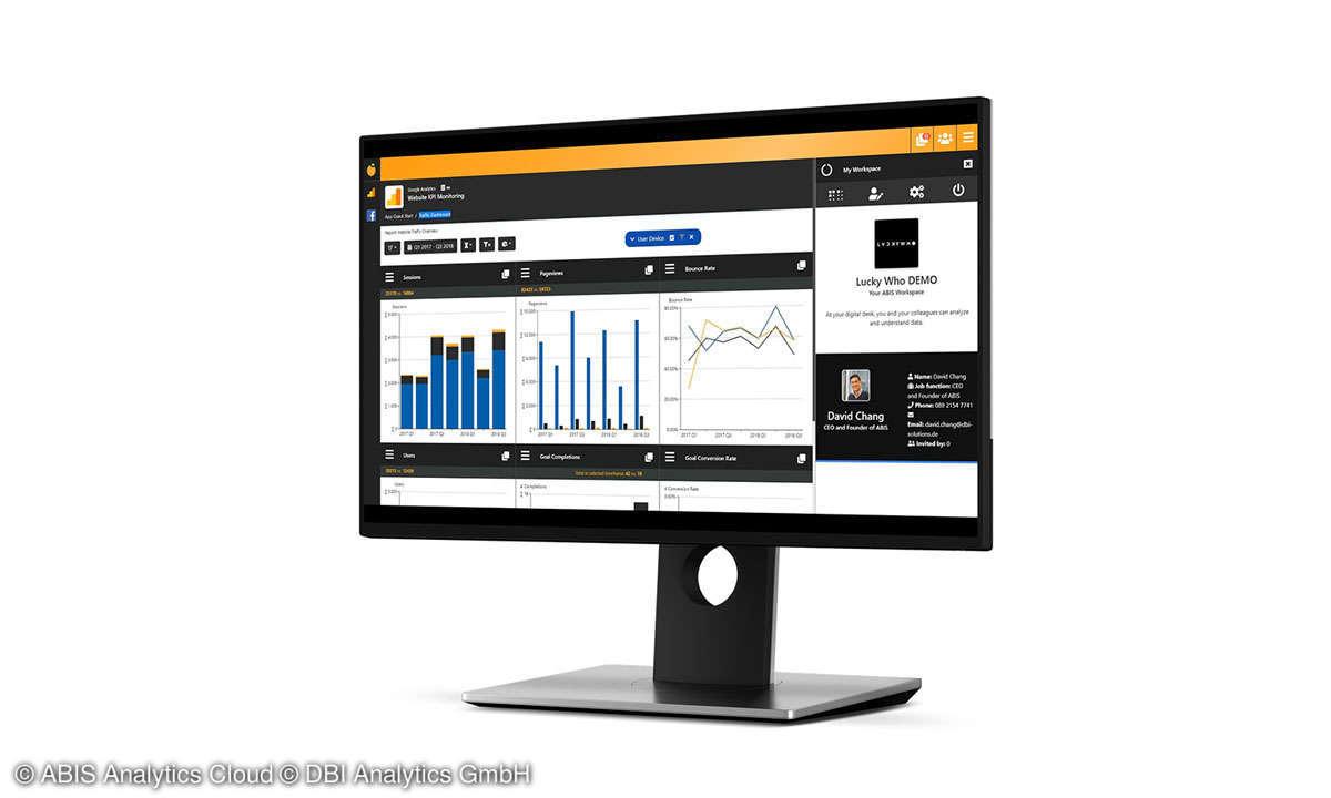 ABIS Analytics Cloud Produktbild 1