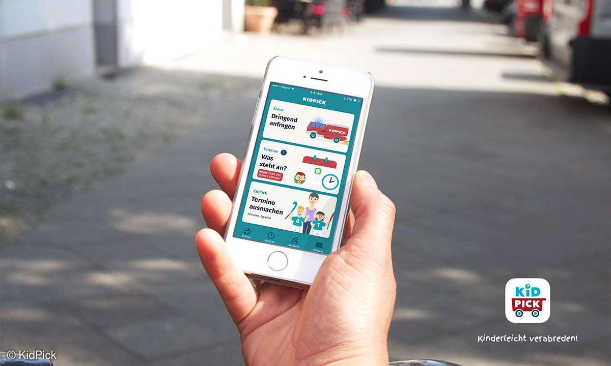 KidPick App Ansicht