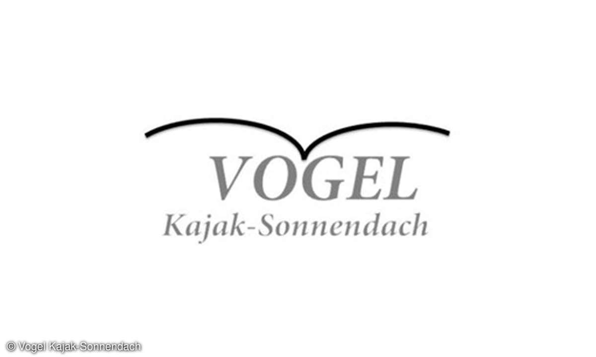 Vogel Kajak-Sonnendach Logo