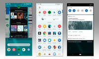 Android 9 und iOS 12 im Vergleich: Android 9 - Look & Feel