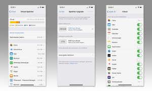 Android 9 und iOS 12 im Vergleich: iOS 12 - Cloud