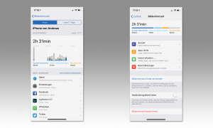 Android 9 und iOS 12 im Vergleich: Drei neue Schwerpunkte - Digitales Wohlbefinden