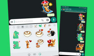 whatsapp sticker verschicken