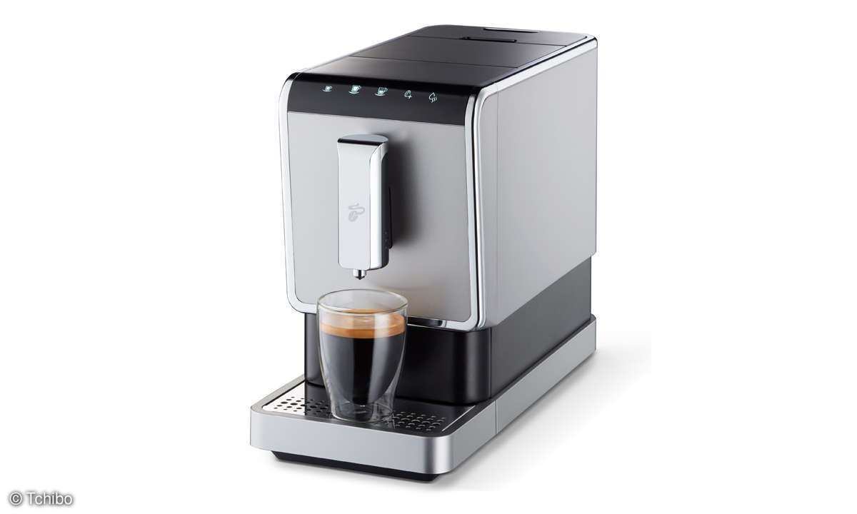 Neue Kaffeemaschine: Esperto Caffe von Tchibo im Test